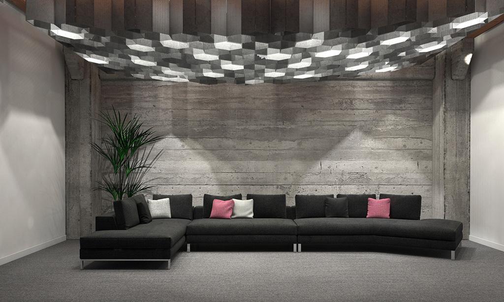 Poważnie Niebanalny pomysł na aranżację - pomysł na ściany w salonie DF11